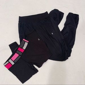 Lululemon Ivivva Girls 10 Pants Lot Black